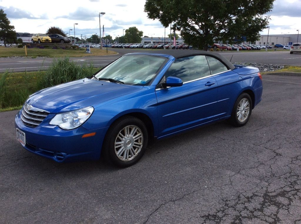2008 Chrysler Sebring Convertible on chrysler sebring jxi limited convertible
