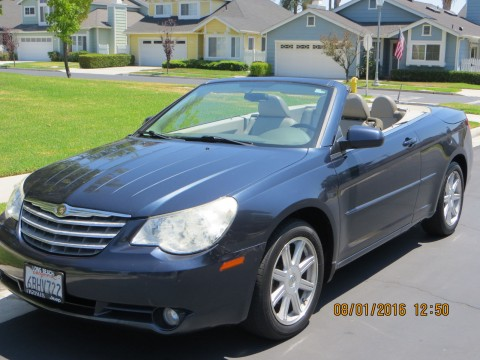 2008 Chrysler Sebring Touring Convertible for sale