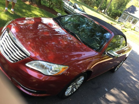 2013 Chrysler 200 Series Limited Convertible for sale