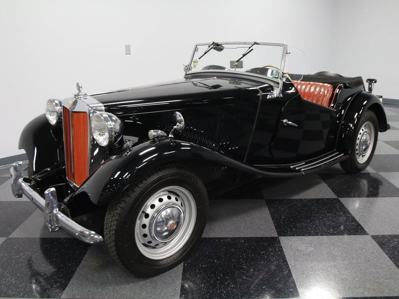 1950 MG T Series roadster convertible
