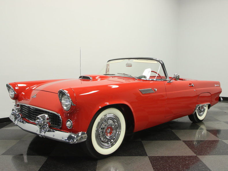 1955 ford thunderbird convertible for sale. Black Bedroom Furniture Sets. Home Design Ideas