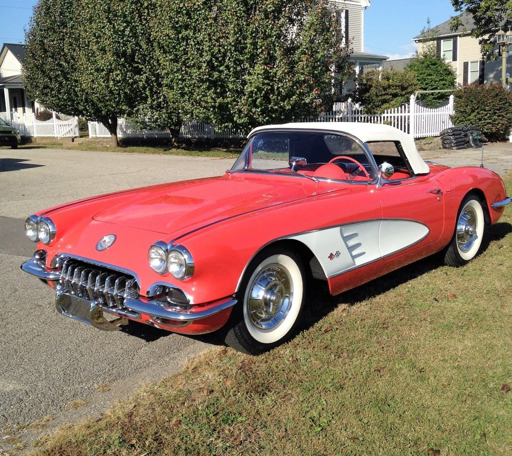 1958 chevrolet corvette convertible for sale. Black Bedroom Furniture Sets. Home Design Ideas