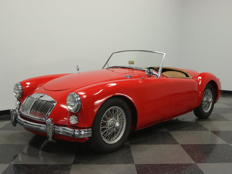 1961 MG MGA convertible roadster