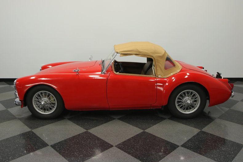 1961 MG MGA convertible roadster