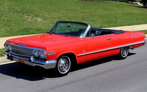 1963 Chevrolet Impala Convertible for sale