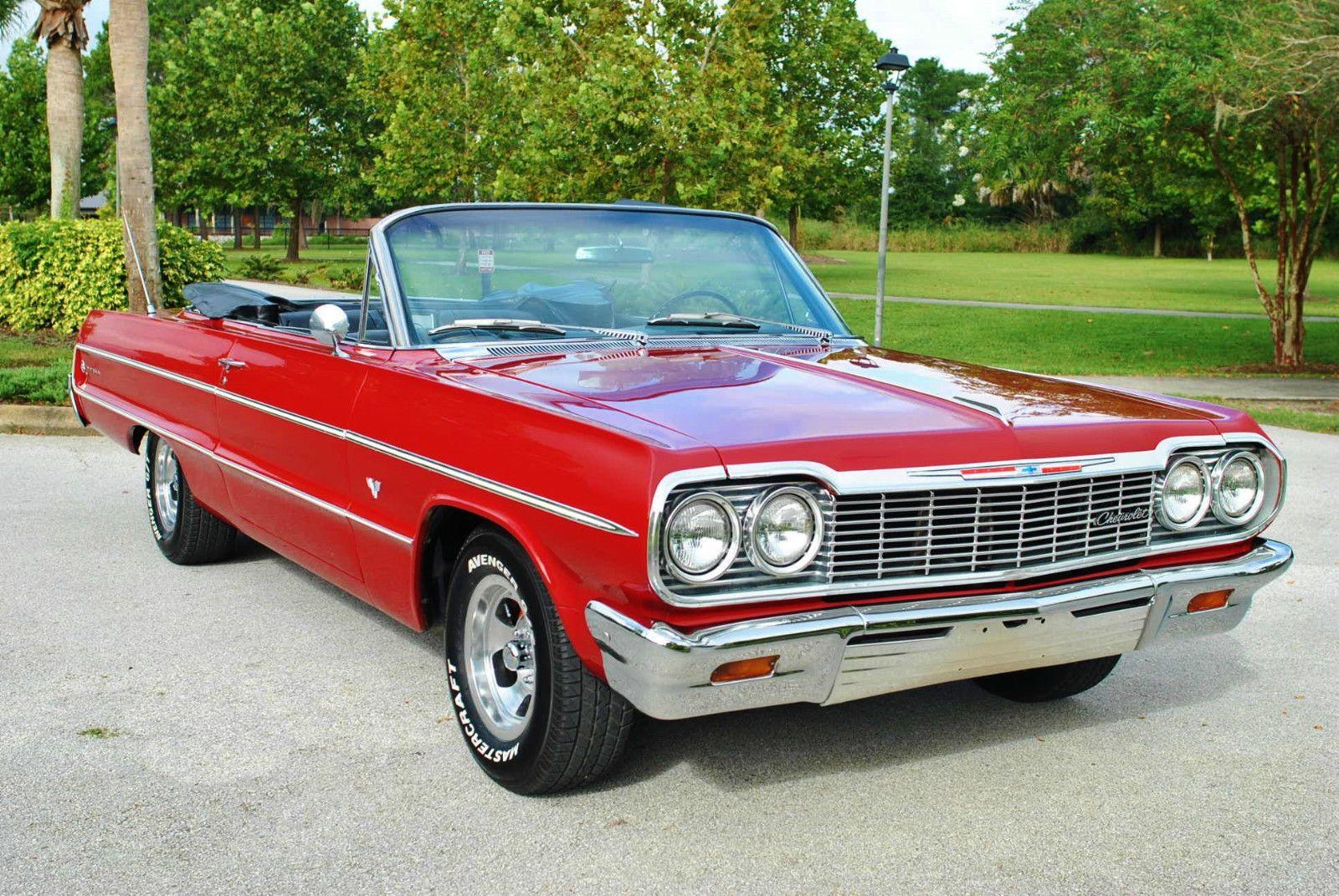 1964 chevrolet impala convertible for sale. Black Bedroom Furniture Sets. Home Design Ideas