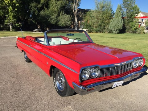 1964 Chevrolet Impala Super Sport Convertible for sale