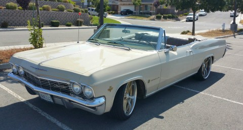 1965 Chevrolet Impala 2 Door Convertible for sale