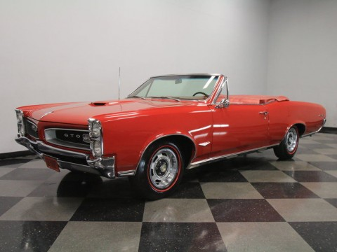 1966 Pontiac GTO Convertible for sale