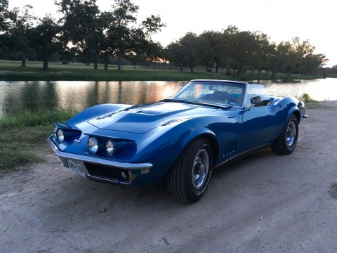 1968 Chevrolet Corvette Base Convertible for sale