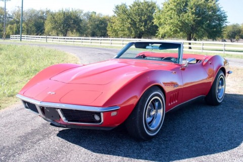 1968 Chevrolet Corvette Convertible for sale