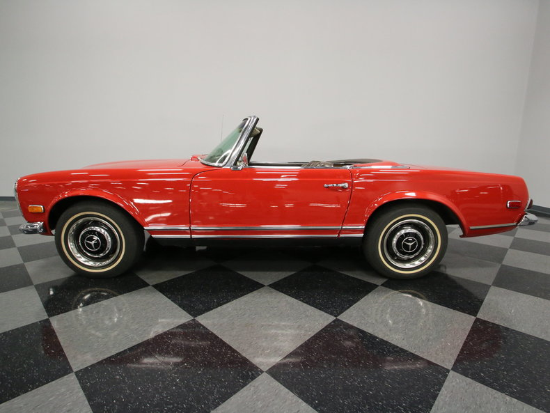 1968 Mercedes Benz 250SL Convertible