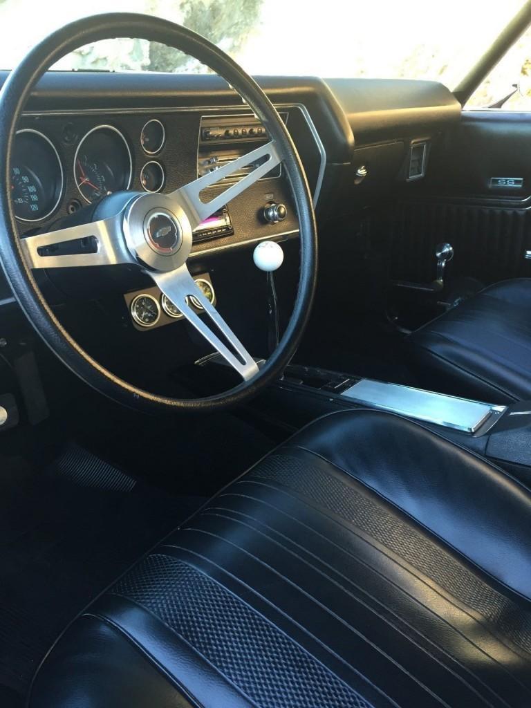 1970 Chevrolet Chevelle 2 Door Convertible