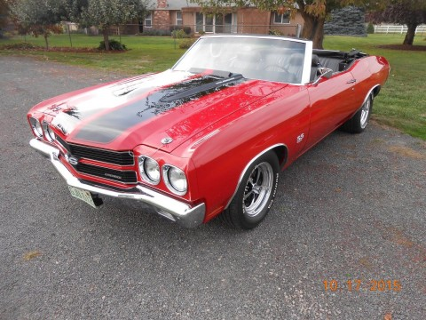 1970 Chevrolet Chevelle SS 454 LS5 convertible for sale