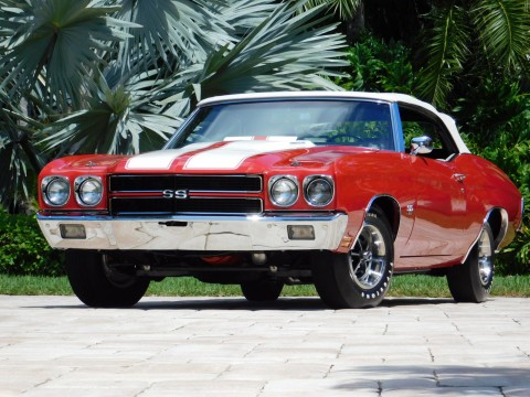 1970 Chevrolet Chevelle SS Convertible for sale