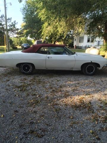 1970 Chevrolet Impala Base Convertible