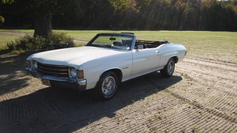 1972 Chevrolet Chevelle convertible for sale