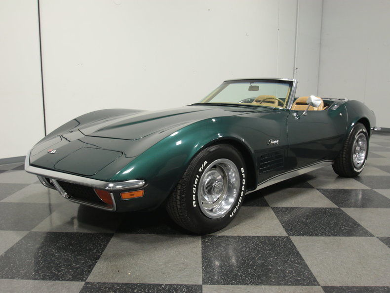 1972 chevrolet corvette convertible for sale. Black Bedroom Furniture Sets. Home Design Ideas