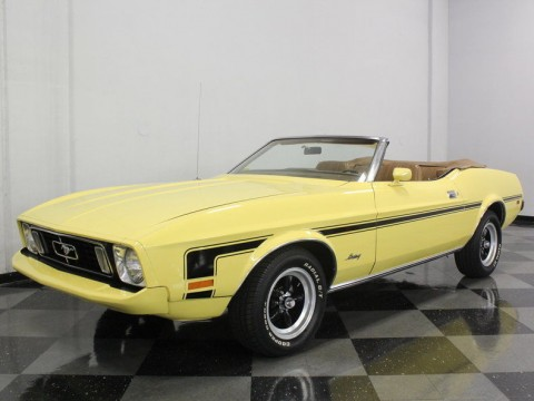 1973 Ford Mustang Convertible L6 for sale
