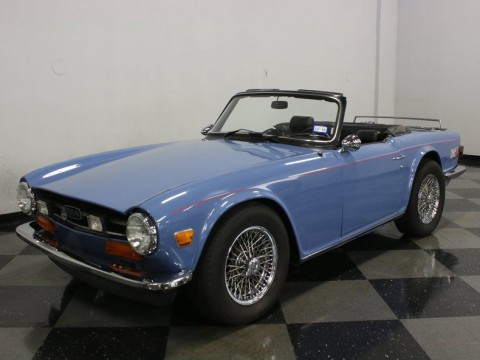 1974 Triumph TR 6 roadster convertible for sale