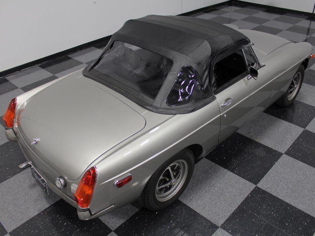 1977 MG MGB roadster convertible