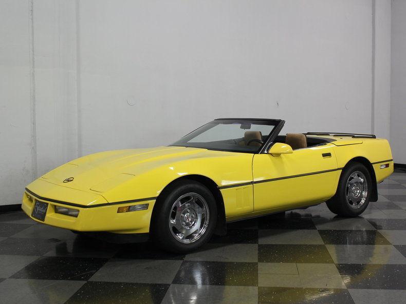 1988 Chevrolet Corvette Base Convertible 2 Door