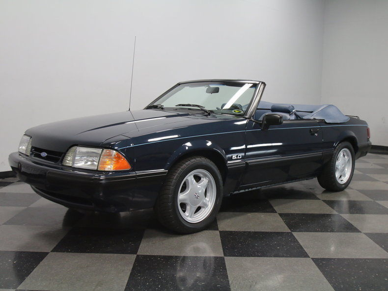 1988 ford mustang lx convertible 2 door for sale. Black Bedroom Furniture Sets. Home Design Ideas
