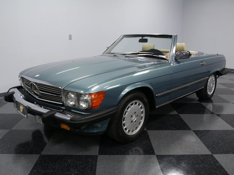 1988 mercedes benz 560sl base convertible 2 door for sale for Mercedes benz 2 door coupe for sale