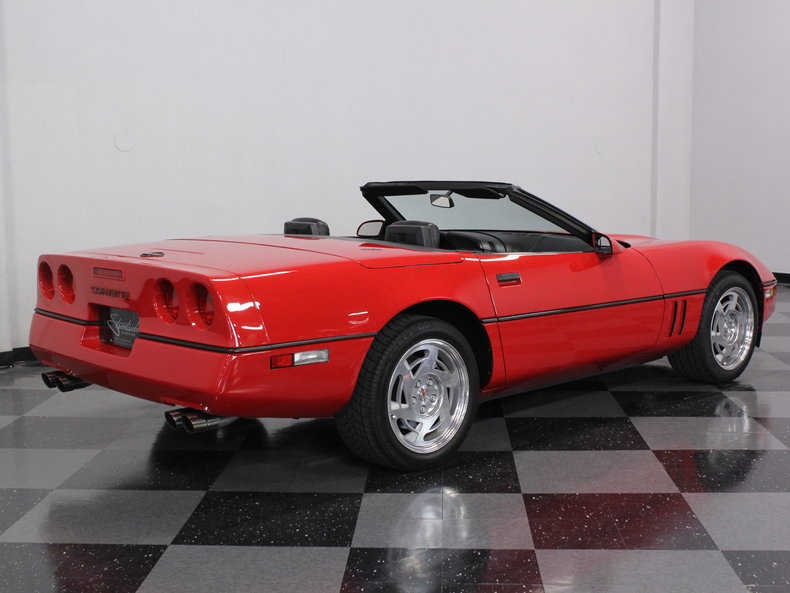 1990 Chevrolet Corvette Base Convertible 2 Door