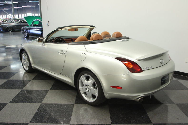 2004 lexus sc430 base convertible 2 door for sale. Black Bedroom Furniture Sets. Home Design Ideas