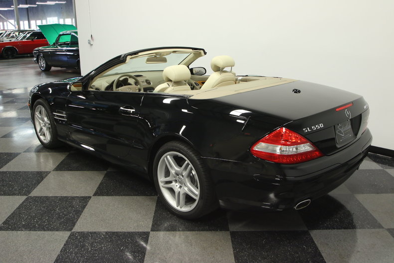 2007 Mercedes Benz SL 550 AMG Base Convertible 2 Door