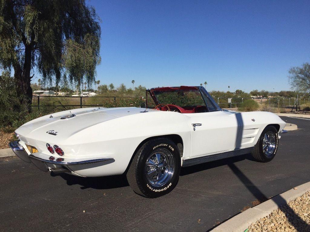 1963 Chevrolet Corvette Stingray Convertible two top