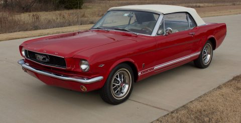 1966 Ford Mustang GT CLONE Convertible for sale