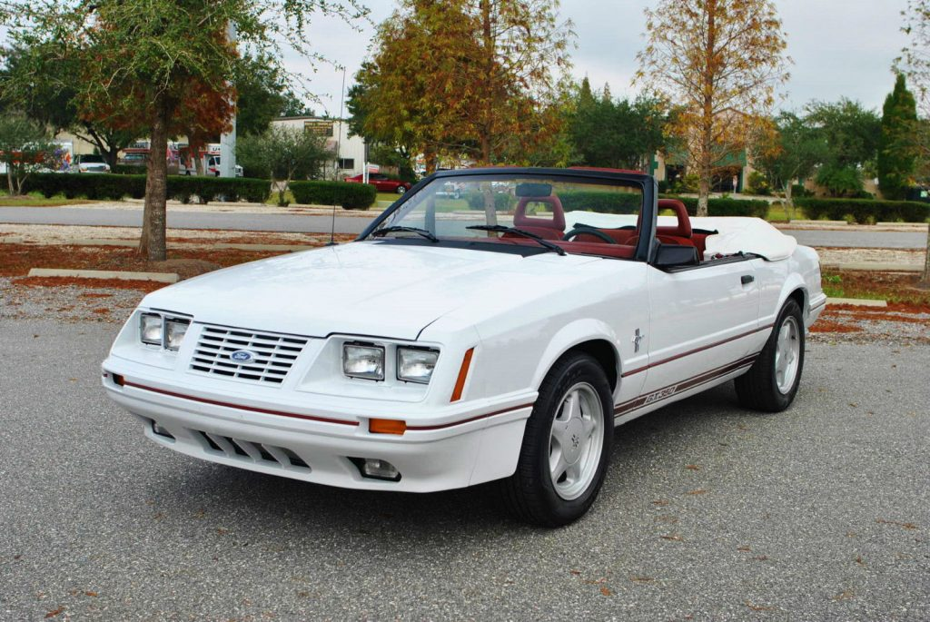 1984 Ford Mustang Gt350 Convertible