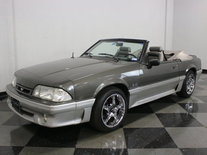 1990 ford mustang gt convertible for sale. Black Bedroom Furniture Sets. Home Design Ideas