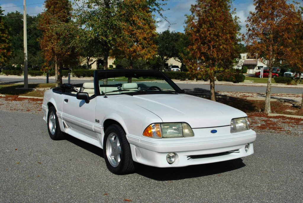 Ford Mustang Gt Convertible 2017 >> 1991 Ford Mustang 5.0 Convertible for sale