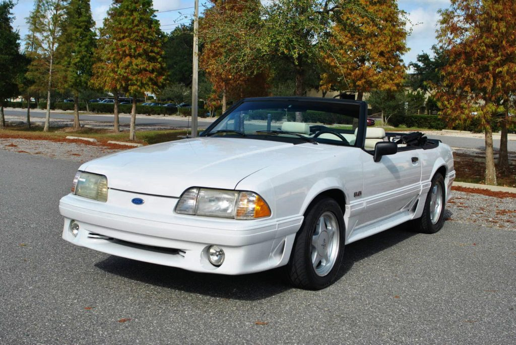 1991 ford mustang 5 0 convertible for sale. Black Bedroom Furniture Sets. Home Design Ideas