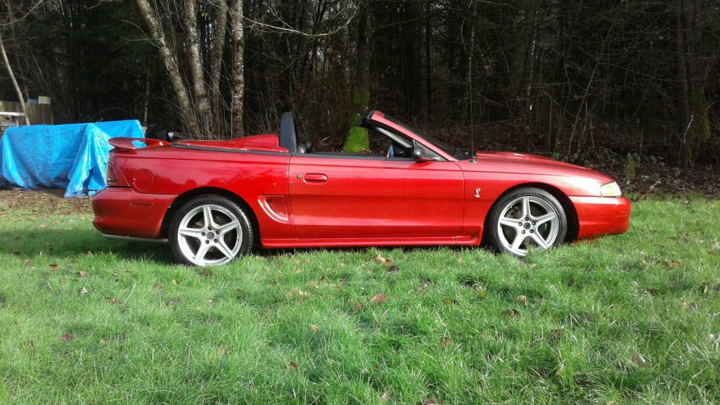 1996 Ford Mustang SVT Cobra Convertible