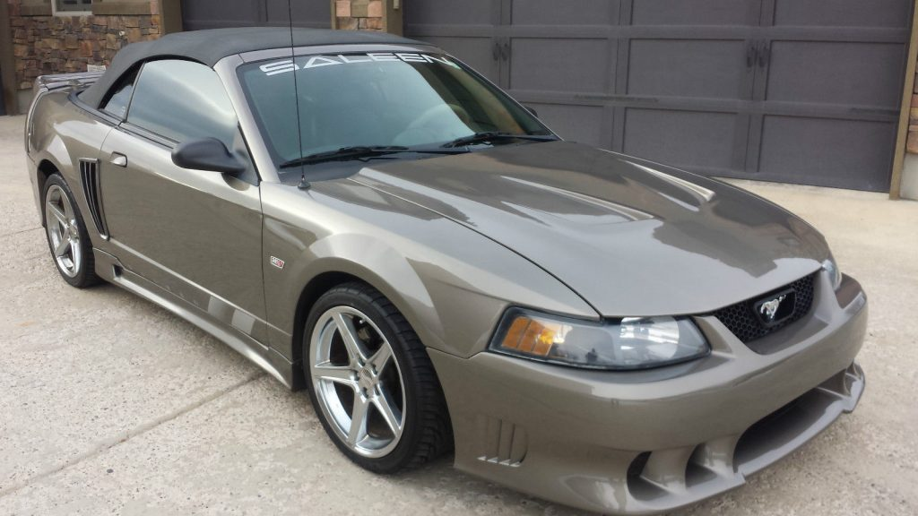 2002 ford mustang saleen convertible for sale. Black Bedroom Furniture Sets. Home Design Ideas