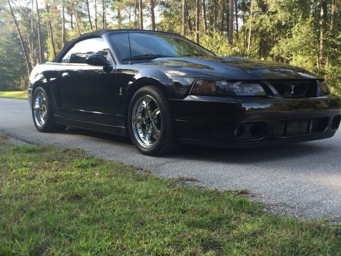 2003 Ford Mustang Cobra Convertible 10th anniversary for sale