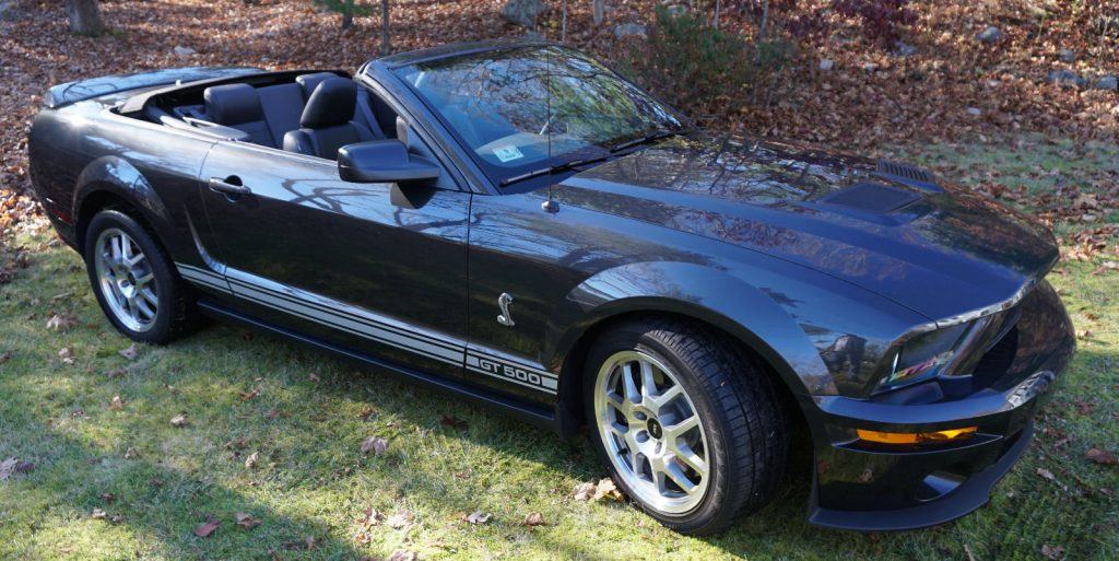 2008 Ford Mustang Shelby GT 500 Convertible