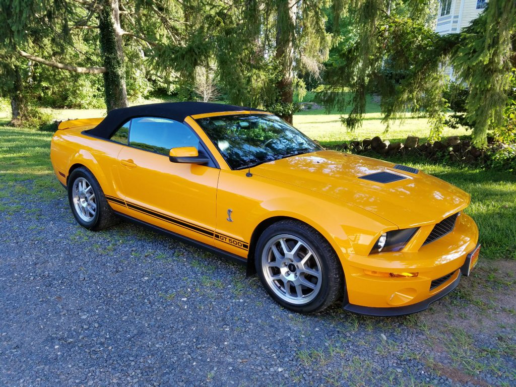 2008 Ford Mustang Shelby Gt500 Convertible