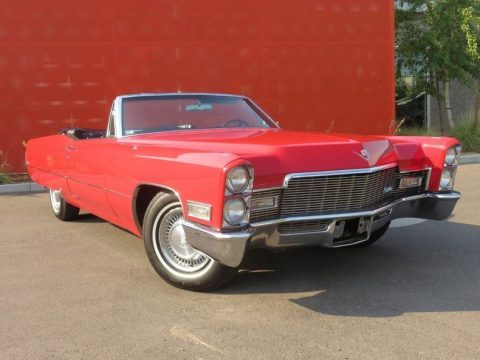 Beautiful 1968 Cadillac DeVille convertible for sale
