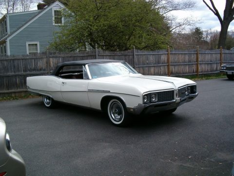 Collector car 1968 Buick Electra Convertible for sale