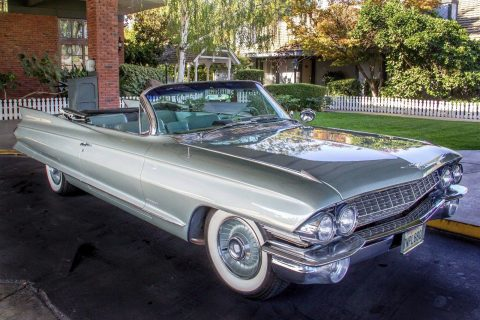 Completely restored 1961 Cadillac Deville Convertible for sale