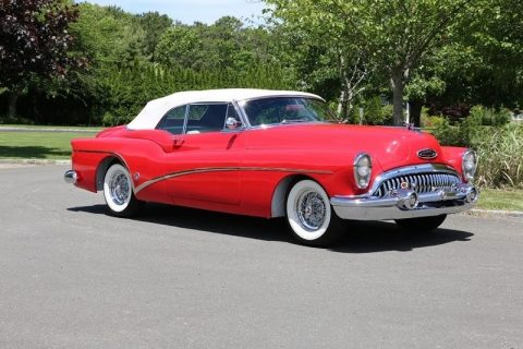 Factory options 1953 Buick Skylark Convertible for sale