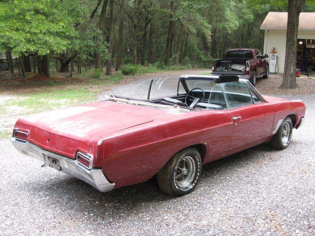 Garage find 1967 buick gran sport convertible for sale for Garage finder