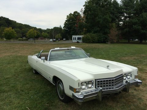 garaged 1973 Cadillac Eldorado Convertible for sale
