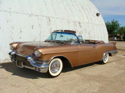Gold class 1957 Cadillac Eldorado BIARRITZ Convertible for sale