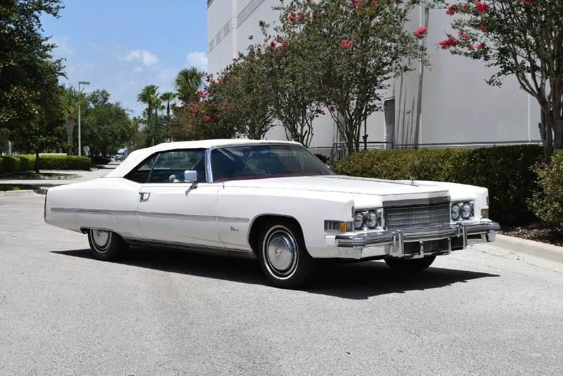 Low mileage 1974 Cadillac Eldorado Convertible